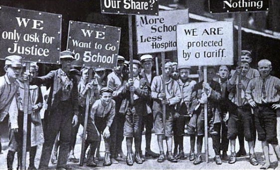 Children-Strikers-from-Spargo-1903